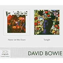 Coffret 2 CD : Never let me down / Tonight [Import anglais]