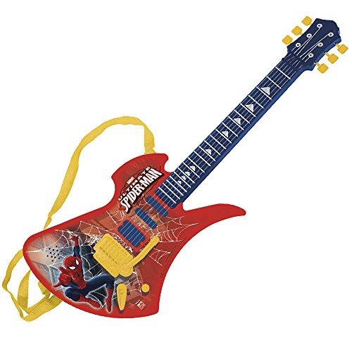 Reig 662068 - Spiderman Guitarra Electrónica Canciones