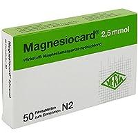 MAGNESIOCARD 2,5 mmol Filmtabletten 50 St preisvergleich bei billige-tabletten.eu
