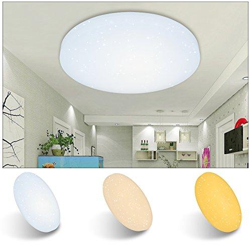 VINGO® LED Deckenleuchte Starlight-Design Deckenlampe Wandlampe Deckenbeleuchtung Farbwechsel
