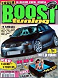 BOOST TUNING [No 119] du 15/09/2005 - LA GAMME FOCAL UTOPIA - 14 CAISSES - A3 MATE IN FRANCE.