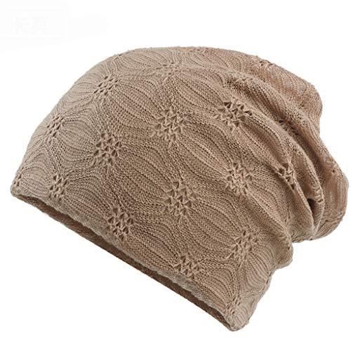 Nosterappou Doublure intérieure en coton confortable pour femmes, doublure simple et confortable, confortable, agréable à la peau, légère et respirante, design creux, bonnet de couchage en coton mince