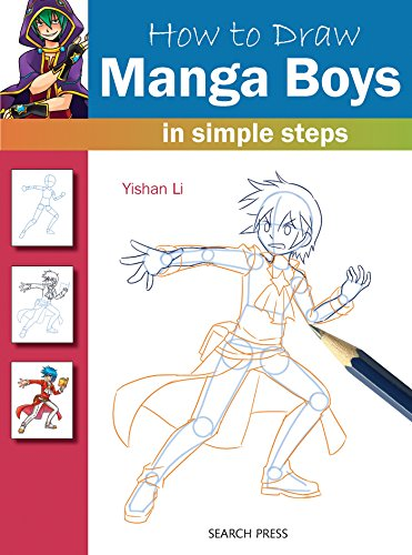 How to Draw Manga Boys: In Simple Steps