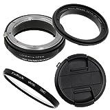 Fotodiox M-Reverse-52-Nikon-Kit - Rosca de Filtro inverso para Objetivo Nikon