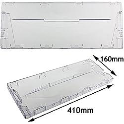 SPARES2GO-Cassetto frontale in plastica con maniglia, per frigorifero e Freezer Hotpoint Indesit