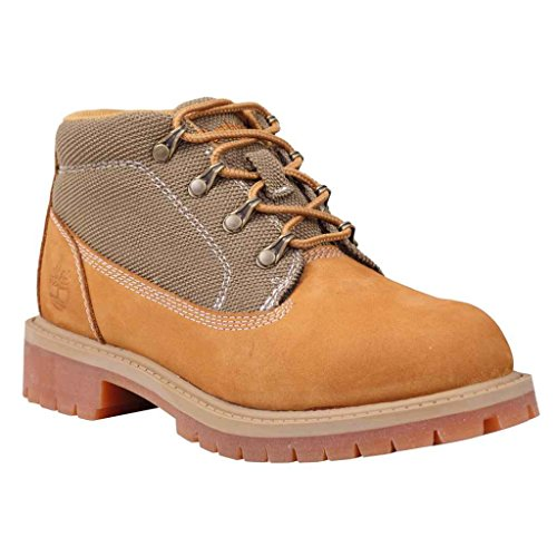 Timberland Youths 6-Inch Campsite Leather Boots Wheat