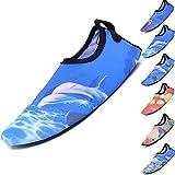 BOLOG Unisex-Kinder Schwimmen Wasser Kleinkind Schuhe Barefoot Aqua Schuhe für Beach Pool Surfen Yoga Jungen Mädchen Strandschuhe Surfschuhe Badeschuhe