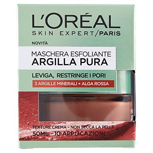 L'Oréal Paris Maschera per il Viso Argilla Pura con...