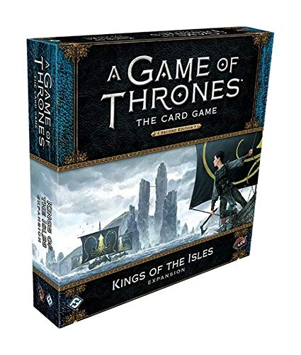 Fantasy Flight Games FFGGT45 Game of Thrones LCG 2nd Edition Deluxe Expansion: Kings of The Isles, gemischte Farben (Fantasy Flight Game Of Thrones)