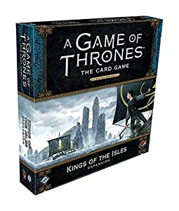 Fantasy Flight Games FFGGT45 Game of Thrones LCG 2nd Edition Deluxe Expansión: Kings of The Isles, Colores Mixtos