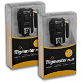 Aputure Trigmaster Plus Kit (2x récepteurs) pour Nikon, 2.4GHz déclencheur flash Radio Remote et Release câble d'obturation