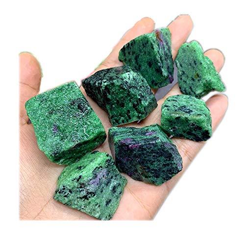 Aitelei rubino naturale da 1 libbra in quarzo fucsia pietra di cristallo pietra grezza grezza originale rocciosa esemplare collezione di guarigione pietra minerale per burattatura, wicca reiki
