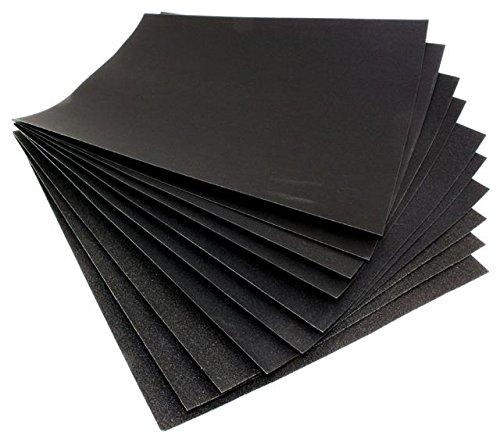 Wet-Dry-Sandpaper-Sheets-Paper-400-Grit-Grade-Pack-Of-10-Sanding