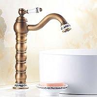 sbwylt-premium rame antico rubinetti calda e fredda,
