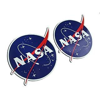 NASA (National Aeronautics and Space Administration)-Aufkleber für die Autostoßstange / 110x 85mm / EURO JDM–Set mit 6Aufklebern