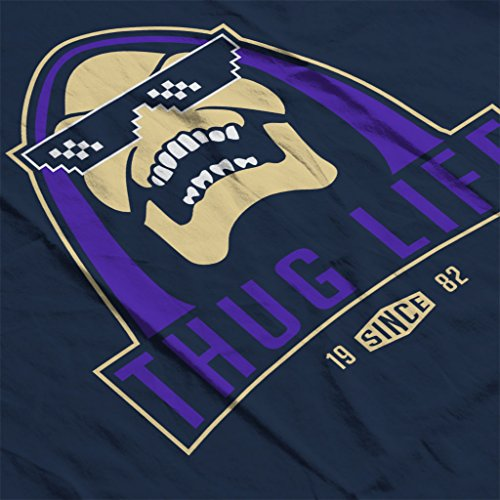 He Man Skeletor Thug Life Women's Hooded Sweatshirt Navy blue