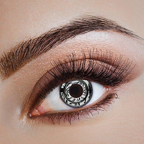 e farbige Kontaktlinsen für Freizeit Party Halloween Karneval ()