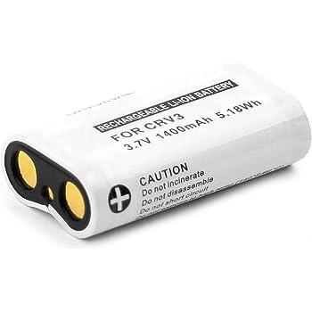 Cellonic® Batteria Premium Compatibile con Sigma SD9 / SD10, CR-V3 1400mAh CR-V3 Batterie Ricambio, accu Sostituzione