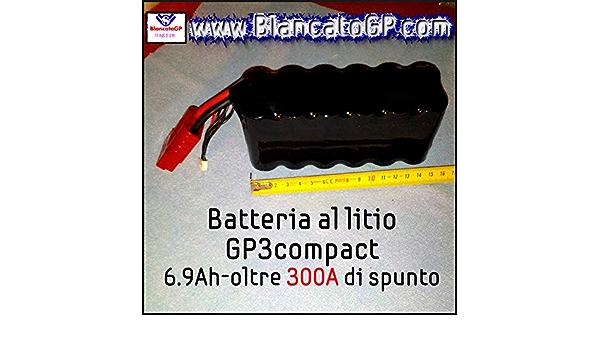BATTERIA AL LITIO COMPATTA /& ULTRALEGGERA moto scooter racing pista A123 LiFePO4