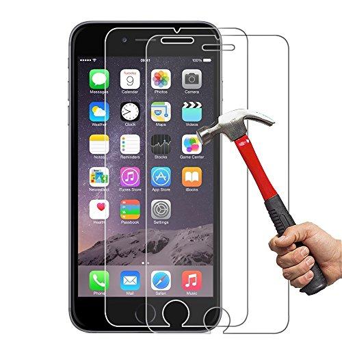 [2-Unidades] iPhone 6s Protector de Pantalla Hepooya Cristal Templado iPhone 6 /6s...