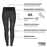Formbelt® Laufhose Damen mit Tasche für Smartphone, Schlüssel, Geld - 2