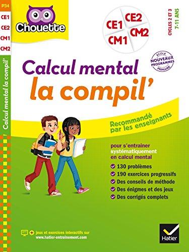 Calcul mental du CE1 au CM2 par Roland Charnay