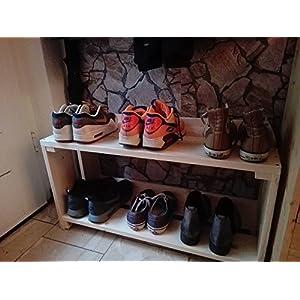 Tolles Schuhregal aus Palettenholz