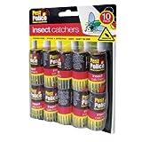 10 PAPIER COLLANT attrape mouche sans Fumées Sans désordre Ruban adhésif pour ATTRAPANT les indésirables Insectes