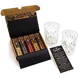 Gin Gläser Gin Botanicals Set I 5 erlesene Gin Gewürze im Geschenkset mit 2 Gin Tonic Gläsern Made in Germany