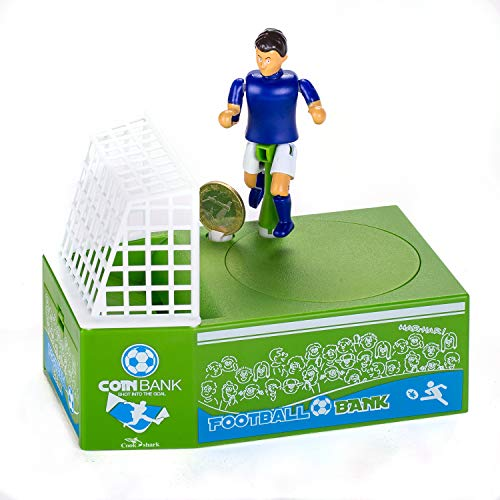 Cestlafit Cute Soccer Shooting Coin Bank