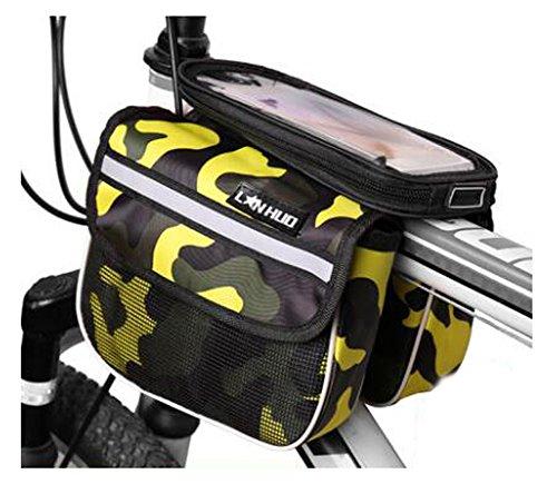 Bike Bag Bunte Fahrrad Lenker Pakete für 6 Zoll Telefon Multi-Funktions-Fahrrad-Zubehör#10