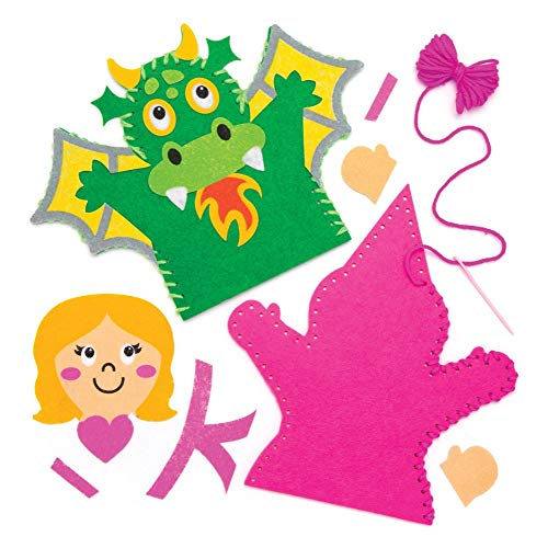Baker Ross Fairy Tale - Juego Costura Marionetas Mano