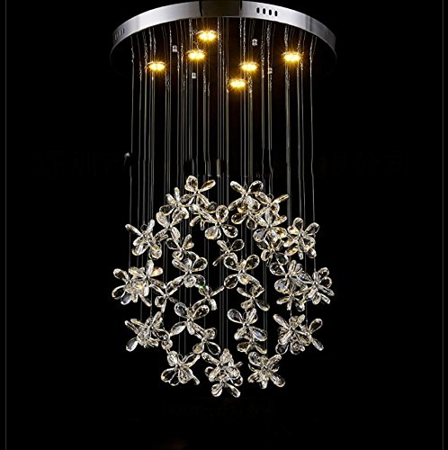 Fiori luci ristorante guidato Crystal Light ,