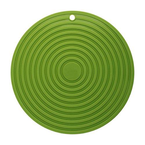Cs Grand Tapis de Table de Gel de silice de 28CM imperméable et Repasser la Garniture de Casserole (Color : B)