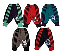 Boys 3/4th Pant,5pcs pack with five different colours and latest print design