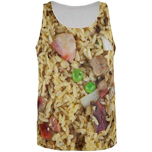 Pork Fried Rice Kostüm aller Herren Tank Top Multi (Kostüm Rice Kinder)