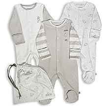 The Essential One - Pijama para bebé - Paquete de 3 - ESS97