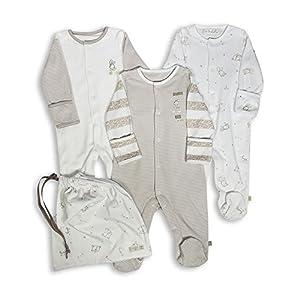 The Essential One - Pijama para bebé - Paquete de 3-0-3 Meses ESS97 6