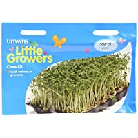 Unwins Little Growers Cress Kit Seeds
