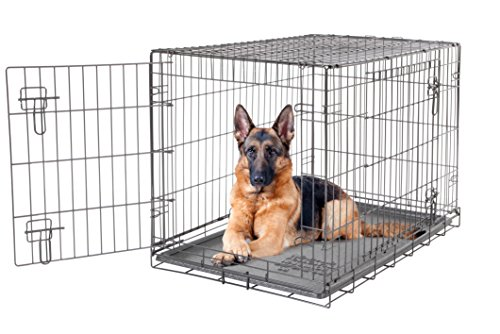 dogit-2-door-wire-cage-home-1065-x-70-x-77-cm-black