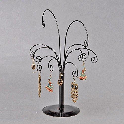 LHGS Einzigartiges schwarzes Design Baum Form Ohrringe Ständer Ständer Bügel Bügel