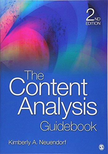 The Content Analysis Guidebook por Kimberly A. Neuendorf