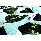 BIO Blooms Poly Grow Bag 24x24x40cms 400 Gauge - 20 Bags UV treatedPoly_Grow_Bag