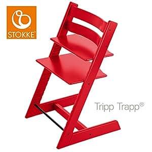 stokke tripp trapp evolutiva hochstuhl rot baby. Black Bedroom Furniture Sets. Home Design Ideas