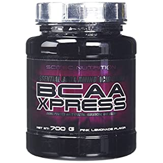 Scitec Nutrition BCAA Xpress Amino Acid Powder - 700 g, Pink Lemonade