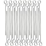 COM de Four® pinchos Brochetas de y parrilla de acero inoxidable, 22cm 30 Stück