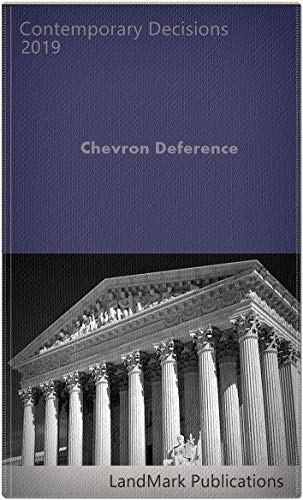 Chevron Deference (English Edition)