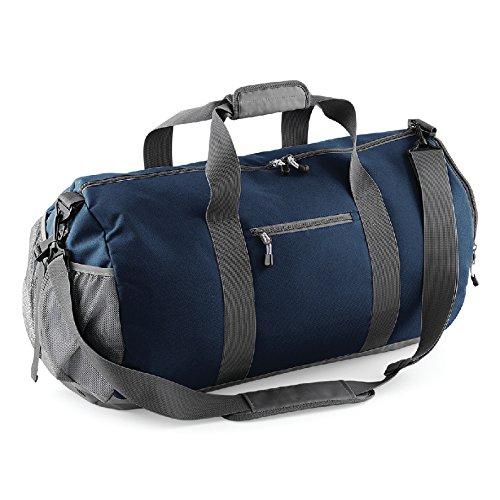 Athleisure kit Bag- Borsa in poliestere con tessuto impermeabile Blu