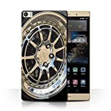 Stuff4 Phone Case for Huawei P8 Max Alloy Wheels
