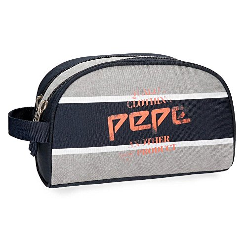 Pepe Jeans Pierre Vanity, 26 cm, 4.99 liters, Multicolore (Multicolor)